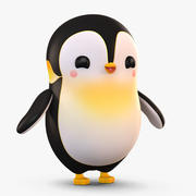 Cartoon Arctic Penguin 3d model