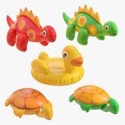 juguetes inflables modelo 3d