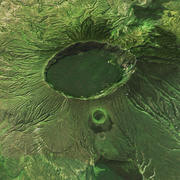 Menengai Crater 3d model