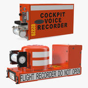 Flight Recorders Collection 3d model
