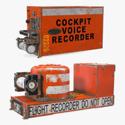 Crashed Flight Recorders Collection 3d model