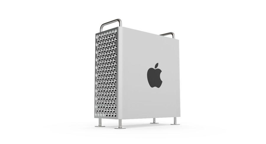 Apple Mac Pro 2019 royalty-free 3d model - Preview no. 3