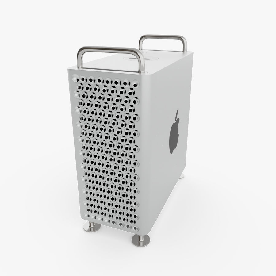 Apple Mac Pro 2019 royalty-free 3d model - Preview no. 1