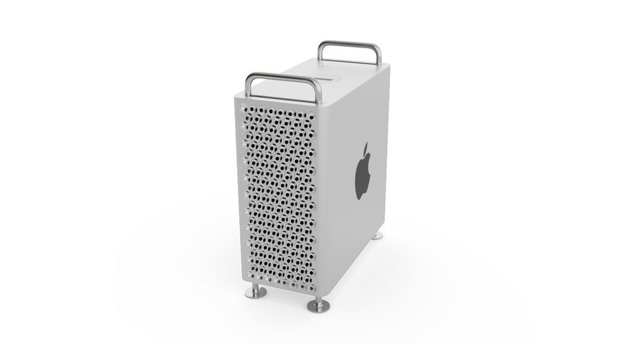 Apple Mac Pro 2019 royalty-free 3d model - Preview no. 2