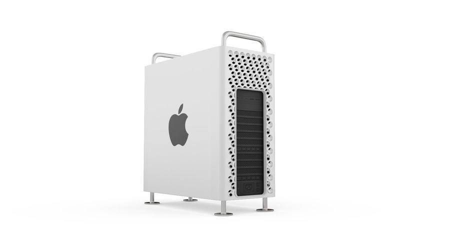 Apple Mac Pro 2019 royalty-free 3d model - Preview no. 8