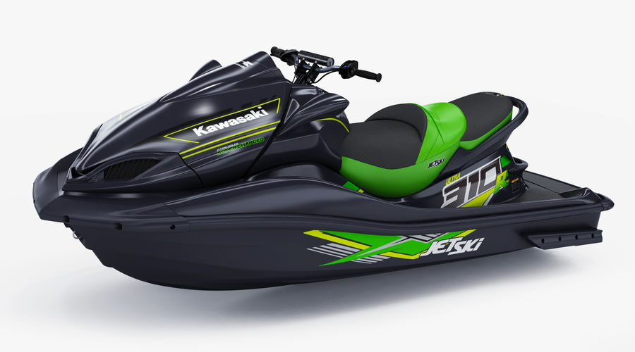 Kawasaki Jet Ski Ultra 310R 2019 royalty-free 3d model - Preview no. 7