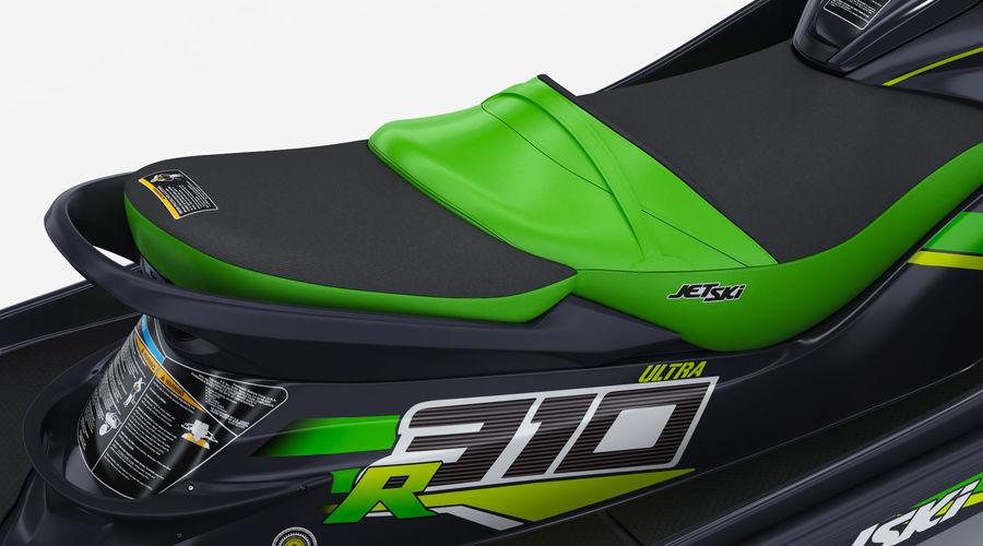 Kawasaki Jet Ski Ultra 310R 2019 royalty-free 3d model - Preview no. 16