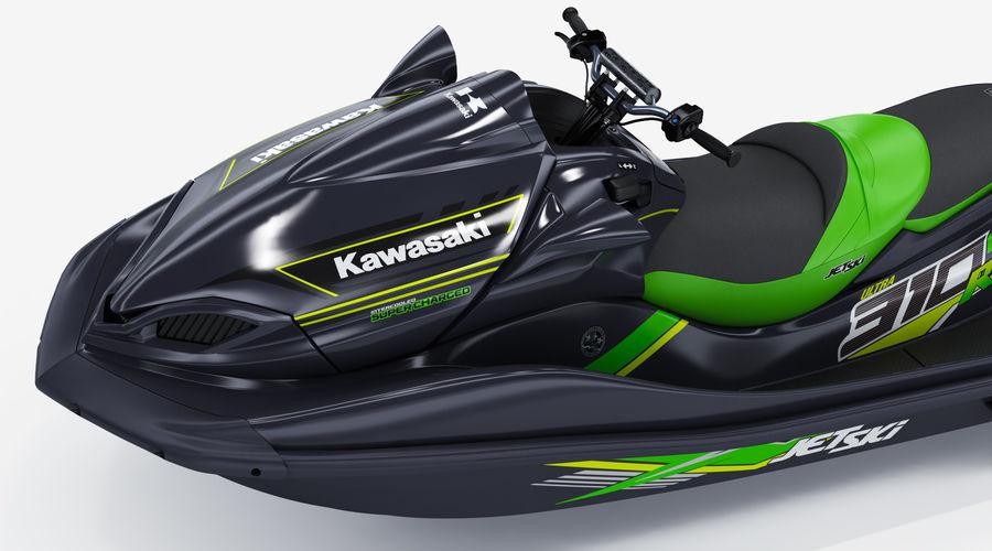 Kawasaki Jet Ski Ultra 310R 2019 royalty-free 3d model - Preview no. 14