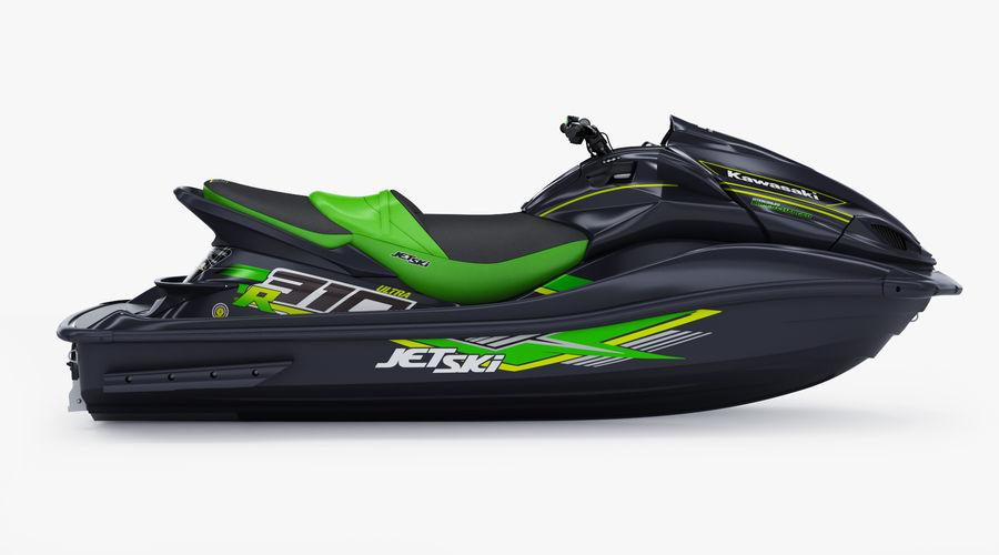 Kawasaki Jet Ski Ultra 310R 2019 royalty-free 3d model - Preview no. 4