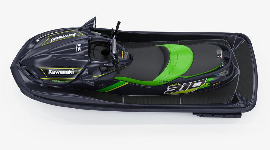 Kawasaki Jet Ski Ultra 310R 2019 royalty-free 3d model - Preview no. 9