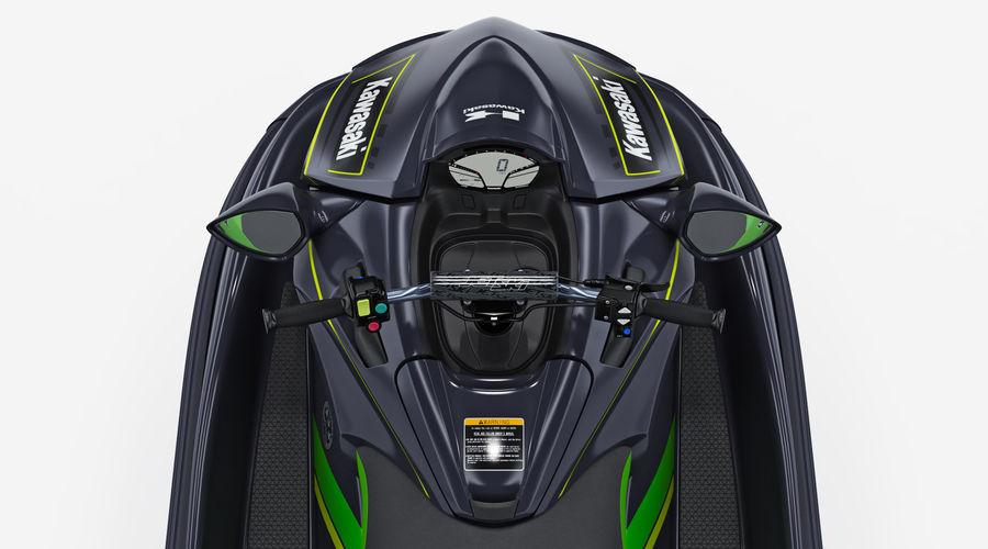 Kawasaki Jet Ski Ultra 310R 2019 royalty-free 3d model - Preview no. 13