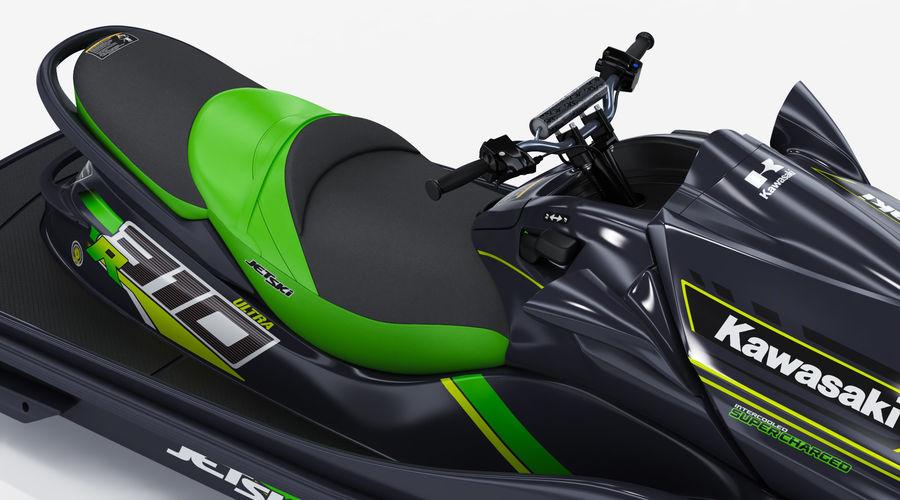 Kawasaki Jet Ski Ultra 310R 2019 royalty-free 3d model - Preview no. 15