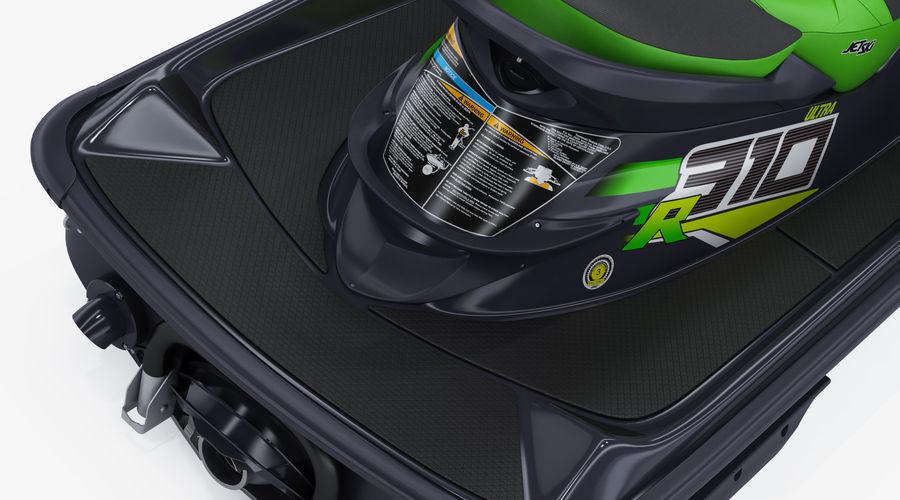 Kawasaki Jet Ski Ultra 310R 2019 royalty-free 3d model - Preview no. 17
