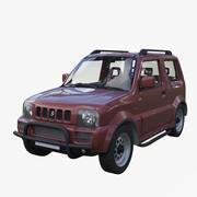 铃木吉姆尼 3d model