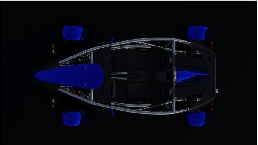 Wyścigowy samochód wyścigowy royalty-free 3d model - Preview no. 27