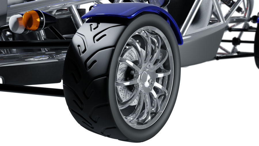 Wyścigowy samochód wyścigowy royalty-free 3d model - Preview no. 28