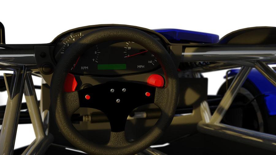 Wyścigowy samochód wyścigowy royalty-free 3d model - Preview no. 15