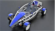 Voiture de course buggy 3d model