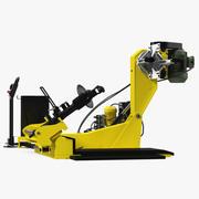 Машина для смены шин грузовых автомобилей 3d model