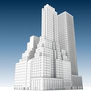 城市建筑3 3d model