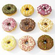 Donut Koleksiyonu 2 3d model