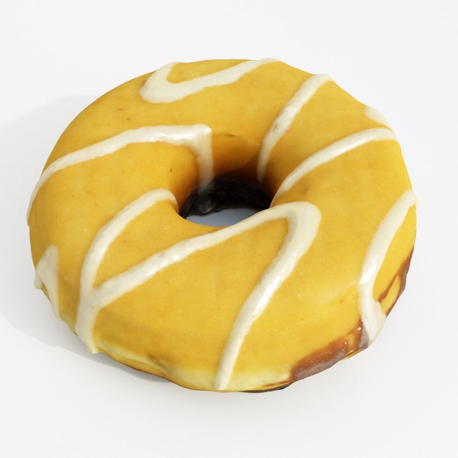 Donut Koleksiyonu 2 royalty-free 3d model - Preview no. 8