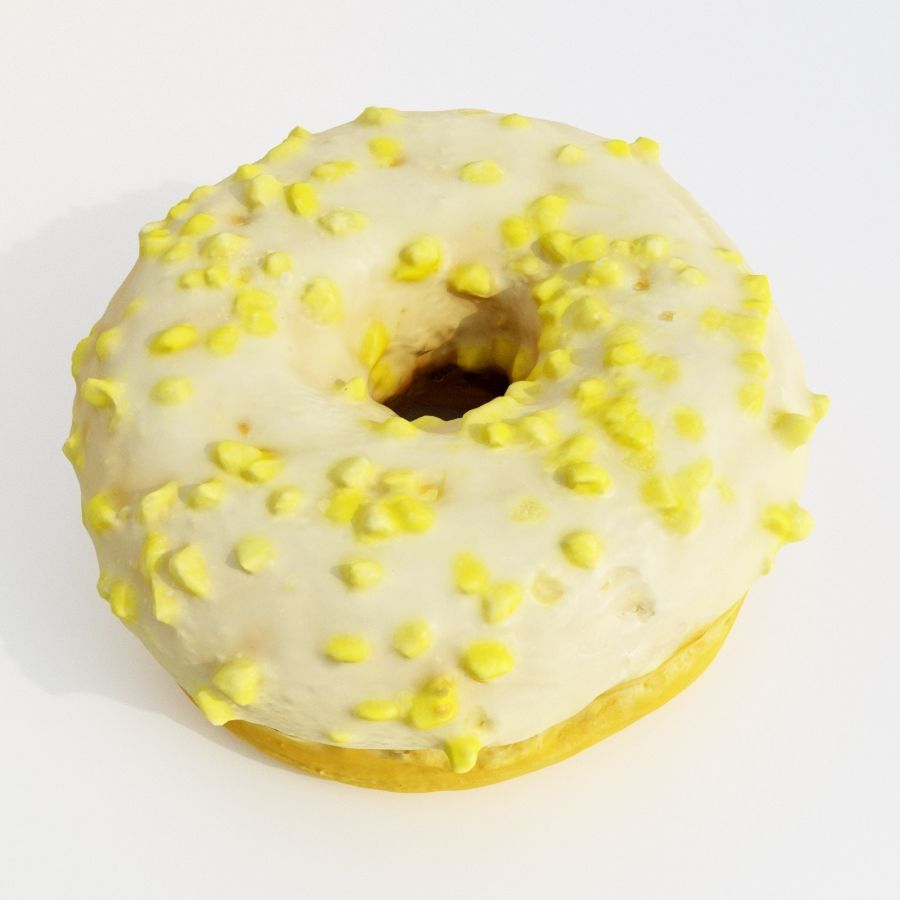 Donut Koleksiyonu 2 royalty-free 3d model - Preview no. 22
