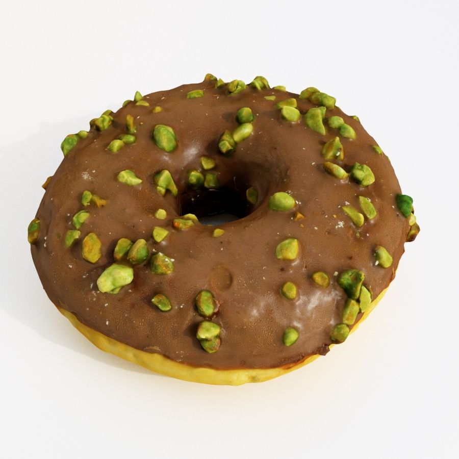 Donut Koleksiyonu 2 royalty-free 3d model - Preview no. 25