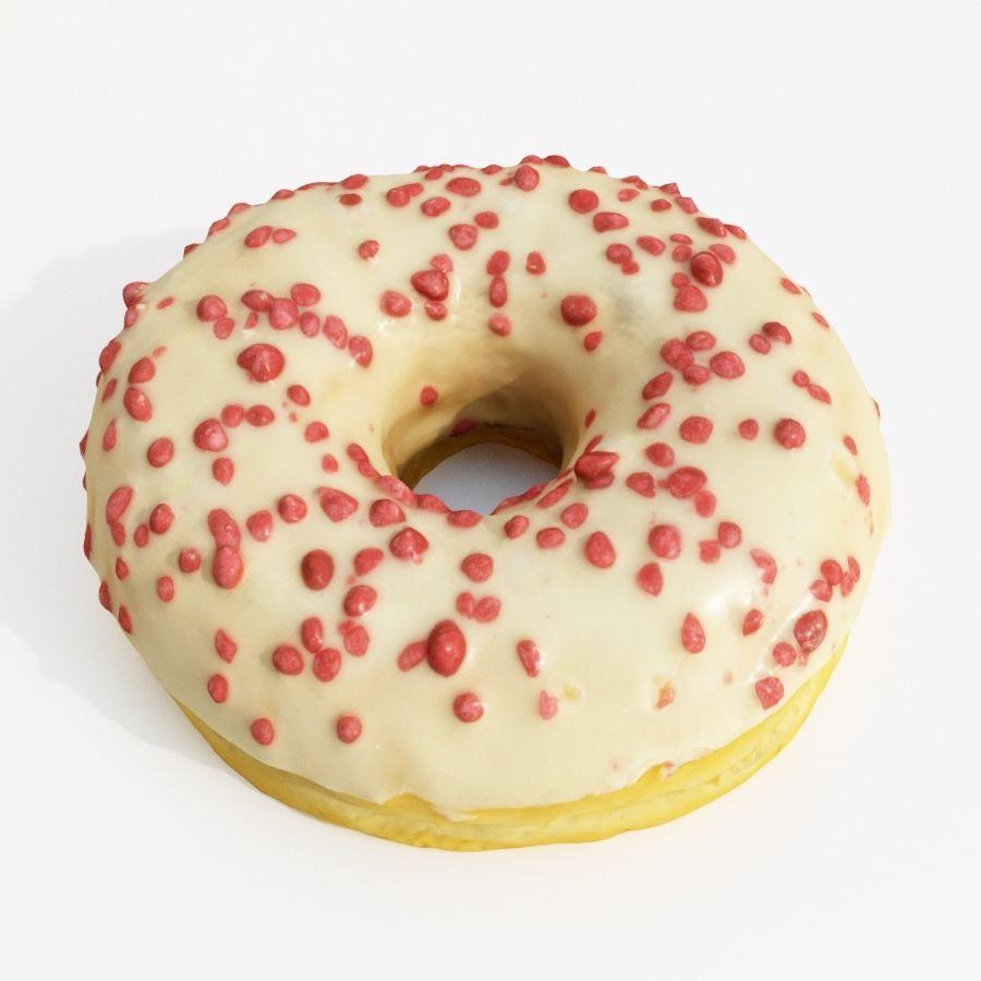 Donut Koleksiyonu 2 royalty-free 3d model - Preview no. 14
