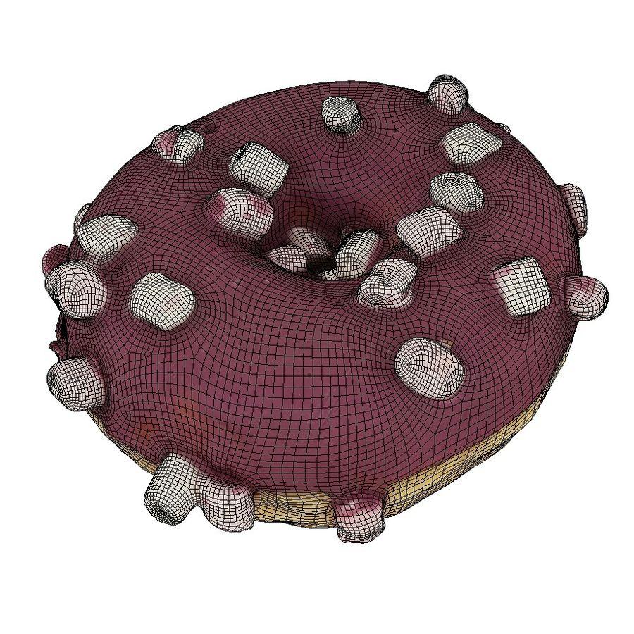Donut Koleksiyonu 2 royalty-free 3d model - Preview no. 13