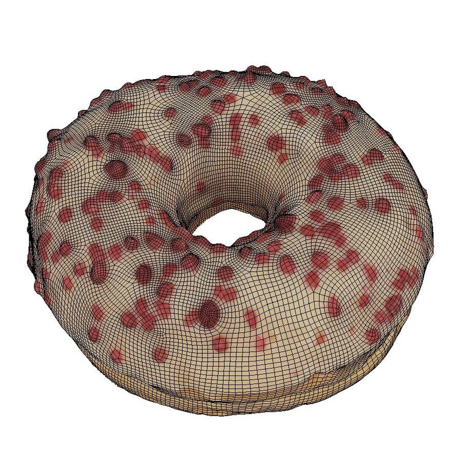 Donut Koleksiyonu 2 royalty-free 3d model - Preview no. 16