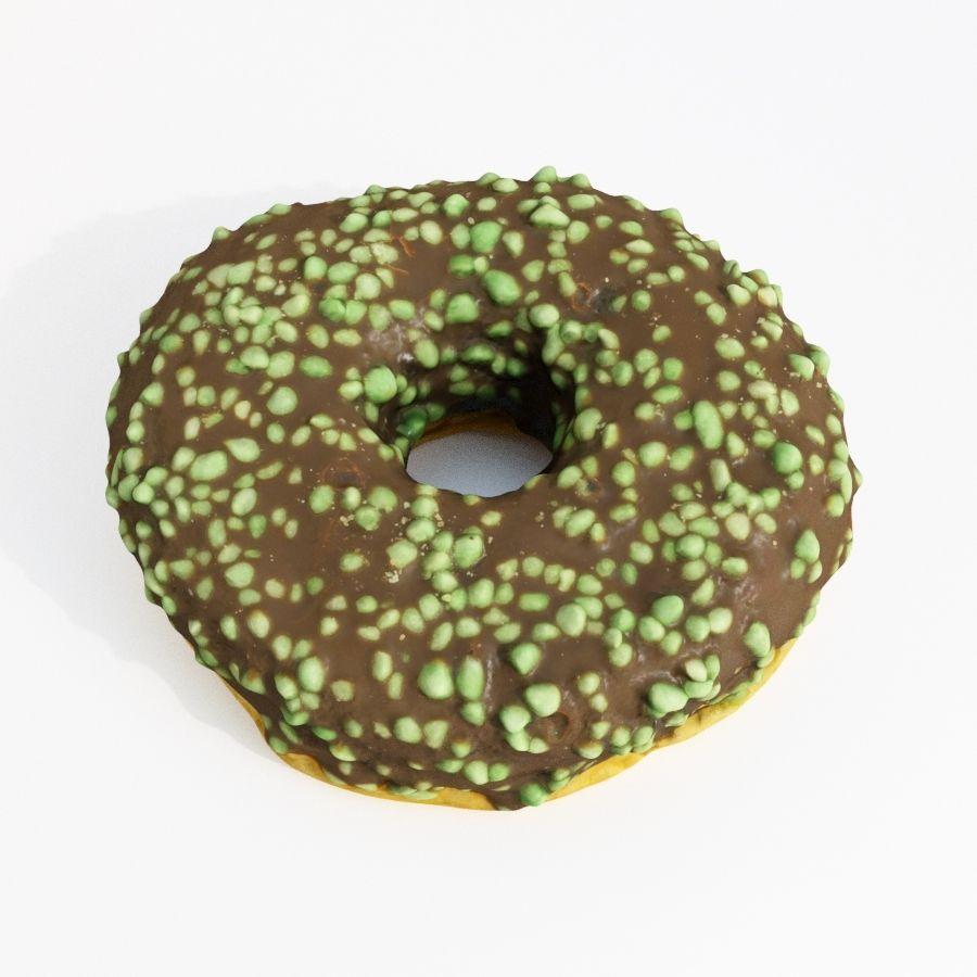 Donut Koleksiyonu 2 royalty-free 3d model - Preview no. 17
