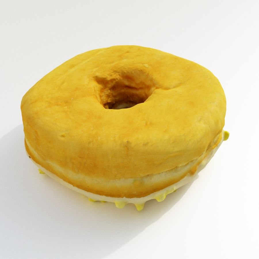 Donut Koleksiyonu 2 royalty-free 3d model - Preview no. 23