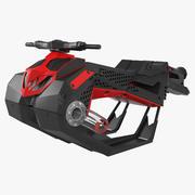 Jet Ski de marque Flyride Hover 3d model