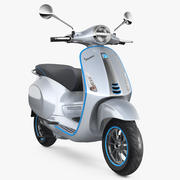 Vespa Elettrica 2019 Scooter 3d model