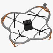 Drone di carico di consegna 3d model