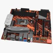 Gaming Moederbord 3d model