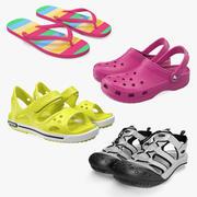 Sandals Collection 2 3d model