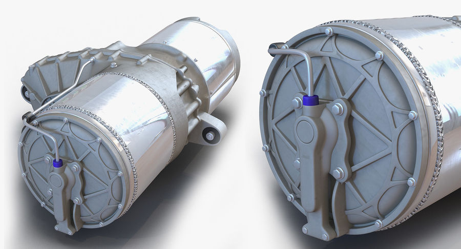 Oto Elektrik Motorları Koleksiyonu royalty-free 3d model - Preview no. 13