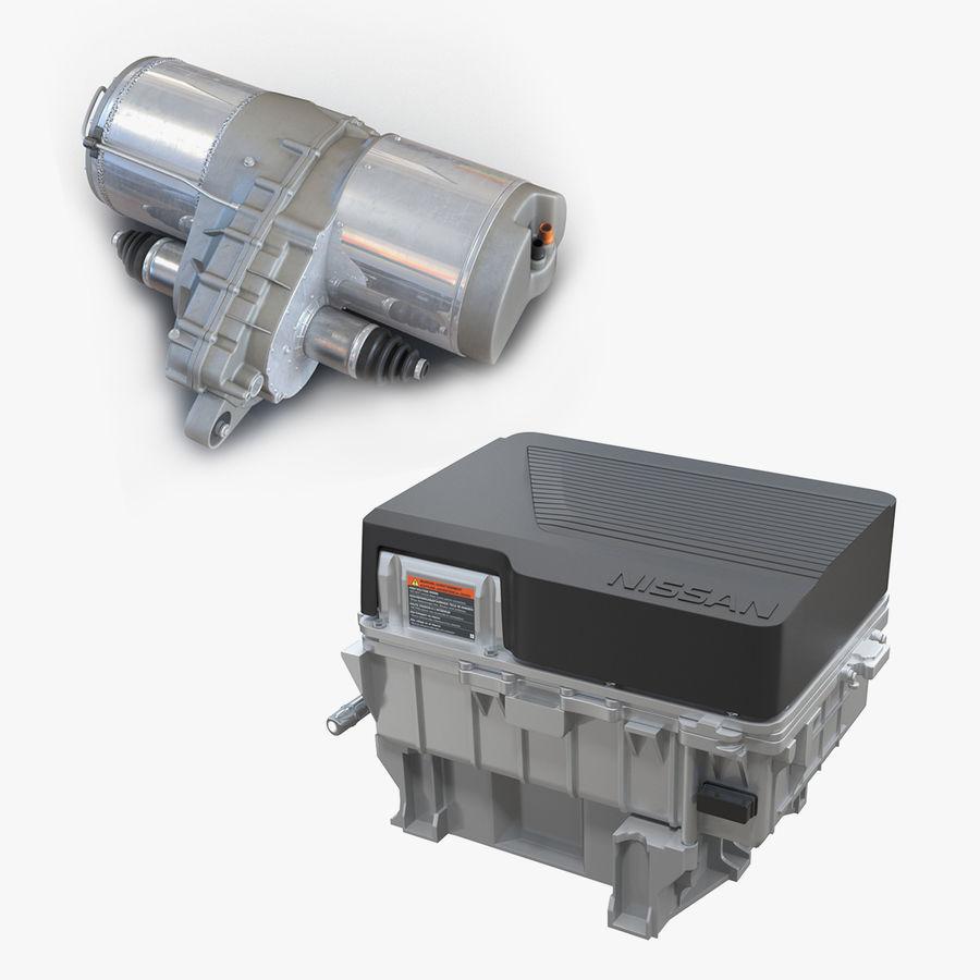 Collection de moteurs électriques auto royalty-free 3d model - Preview no. 1