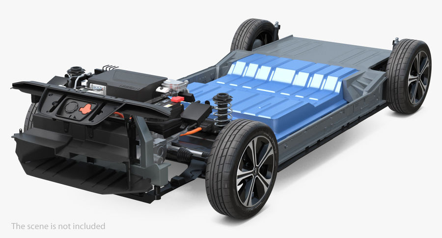 Oto Elektrik Motorları Koleksiyonu royalty-free 3d model - Preview no. 4