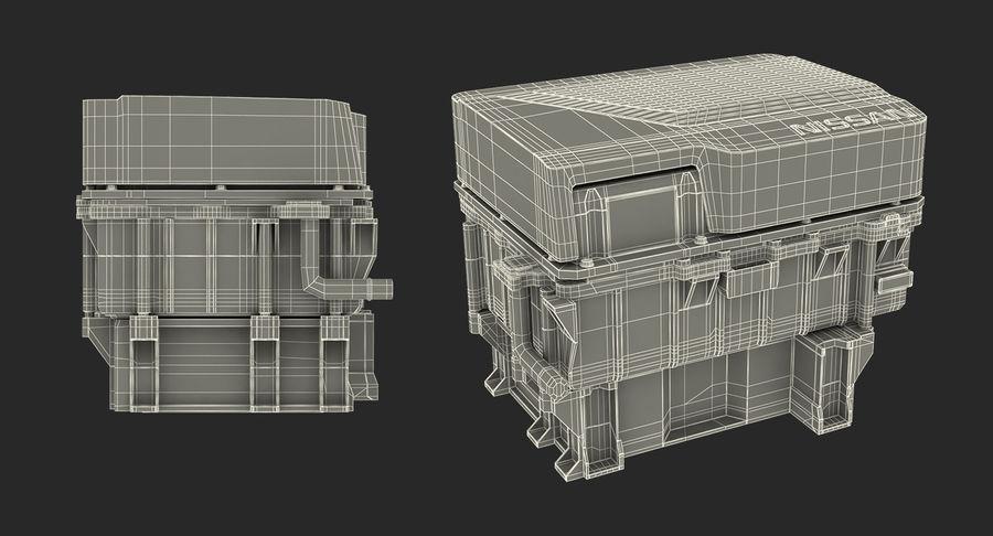 Collection de moteurs électriques auto royalty-free 3d model - Preview no. 15
