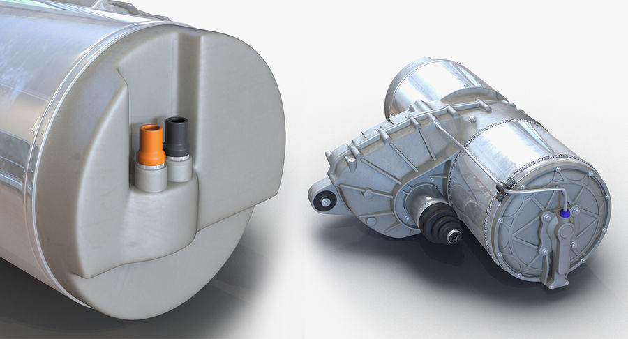 Auto Electric Engines Collection royalty-free 3d model - Preview no. 12