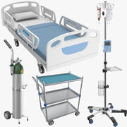 Four Medicals Equipment 3d model