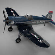 F4U Corsair Vought USA MARINERS WT 19 L237 3d model
