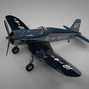 F4U Corsair Vought USA MARINERS 18 L239 3d model