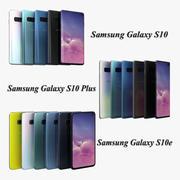 Samsung Galaxy S10, S10 Plus und S10e Kollektion 3d model