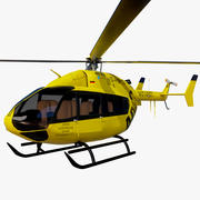 Eurocopter EC145 Nothubschrauber 3d model