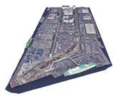 Terminal portuaria modelo 3d
