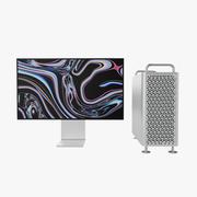 Apple Mac Pro 2019 Seti 3d model